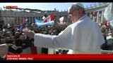 Cerimonia di inizio pontificato, il Papa tra la gente