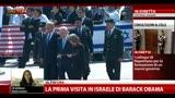 La prima visita in Israele di Barack Obama