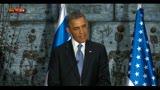 Dichiarazione congiunta Obama-Peres
