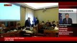 21/03/2013 - Consultazioni, Crimi riferisce il colloquio ai Senatori M5S