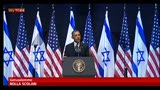 Obama a studenti israeliani: spingete vostri leader a pace