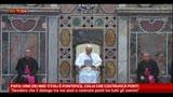 22/03/2013 - Papa, importante intensificare il dialogo tra le religioni