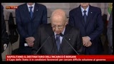 22/03/2013 - Napolitano: il destinatario dell'incarico e Bersani
