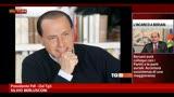 Berlusconi: senza PDL Bersani non ha maggioranza