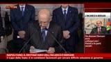 Bersani: serve tempo necessario situazione difficile