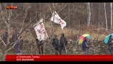 24/03/2013 - Corteo No Tav in Val di Susa,presenti parlamentari M5S e Sel
