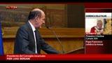 Bersani: in agenda norme stringenti su ineleggibilità