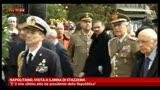 Napolitano, visita a S.Anna di Stazzema