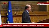 Consultazioni, Bersani: Grillo non ha monopolio cambiamento
