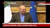 Consultazioni,Angeletti:serve piano riduzione costi politica