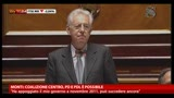25/03/2013 - Monti: coalizione Centro, PD e PDL e possibile