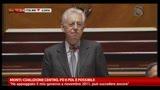 Monti: coalizione Centro, PD e PDL è possibile