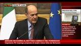 Bersani: no guerra al mattino e abbracci al pomeriggio