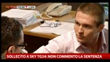 26/03/2013 - Sollecito a Sky TG24: &quot;Non commento la sentenza&quot;