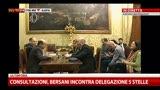 27/03/2013 - 1- Consultazioni, Bersani incontra M5S. Intervento Bersani