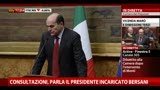 27/03/2013 - Consultazioni, parla il Presidente incaricato Bersani