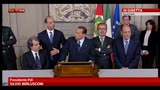 29/03/2013 - Consultazioni, parla la delegazione del PDL e Lega