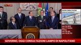 29/03/2013 - Berlusconi: non c'è stata nessuna richiesta su Quirinale