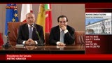 29/03/2013 - Grasso: senza governo, il parlamento non pu lavorare