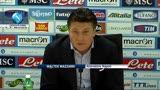"""29/03/2013 - Napoli, Mazzarri: """"Difesa condizionata dagli infortuni"""""""