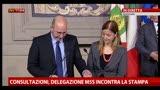 29/03/2013 - M5S: non accordiamo fiducia a governi pseudo tecnici