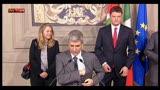 29/03/2013 - Consultazioni con Napolitano, parla Nichi Vendola di SEL