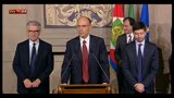 29/03/2013 - Consultazioni con Napolitano, parla Enrico Letta del PD
