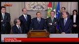 29/03/2013 - Consultazioni, parlano i gruppi politici