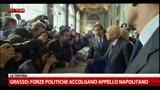 30/03/2013 - Napolitano: oggi pomeriggio avrete i nomi e capirete