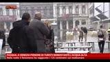 31/03/2013 - Pasqua, a Venezia pienone di turisti nonostante l'acqua alta