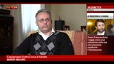 "31/03/2013 - Mario Mauro, uno dei ""Saggi"" ospite a Sky TG24"