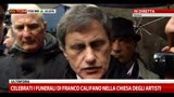 02/04/2013 - Califano, Alemanno: se n' andato amico ed un pezzo di Roma