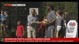 02/04/2013 - Washington, partita di basket per Barack Obama