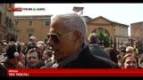 02/04/2013 - Funerali Jannacci, il ricordo degli artisti alla cerimonia