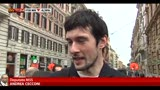 05/04/2013 - M5S, parlamentari prima dell'incontro con Grillo