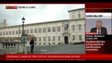 10/04/2013 - Quirinale, inizio trattativa tra Bersani e Berlusconi