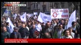 10/04/2013 - ZTL Napoli, scontri tra Polizia e commercianti in corteo