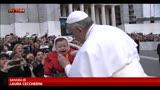 Oltre 30mila persone a San Pietro per udienza papa Francesco