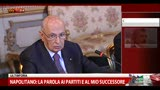 12/04/2013 - Napolitano: &quot;Governo puo' nascere solo da collaborazione&quot;