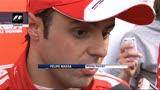 """Gp Cina, Massa: """"Il passo-gara è molto buono"""""""