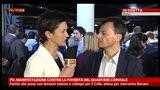 13/04/2013 - Pd, manifestazione contro povertà: intervista a Fassina