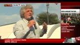 17/04/2013 - Grillo: con Gabanelli Repubblica delle Manette? Finalmente..