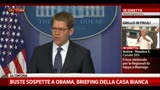 17/04/2013 - Buste sospette a Obama, briefing della Casa Bianca