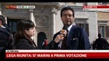 18/04/2013 - Quirinale, Ernesto Carbone: io voter scheda bianca