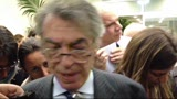 18/04/2013 - Inter, Moratti dopo la sconfitta in Coppa Italia