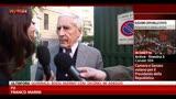 """18/04/2013 - Franco Marini: """"La vita è dura e anche la politica"""""""