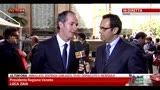 18/04/2013 - Quirinale, Zaia: Lega compatta al fianco di Maroni
