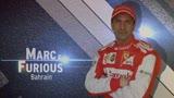 Marc & Furious, Bahrain: in pista con il simulatore di Gené