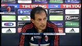 20/04/2013 - Milan, Allegri: &quot;il Faraone torna titolare. Balo? Come Ibra&quot;