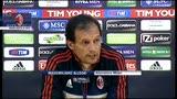 """20/04/2013 - Milan, Allegri: """"il Faraone torna titolare. Balo? Come Ibra"""""""